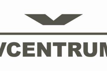 Logo VCentrum antracyt